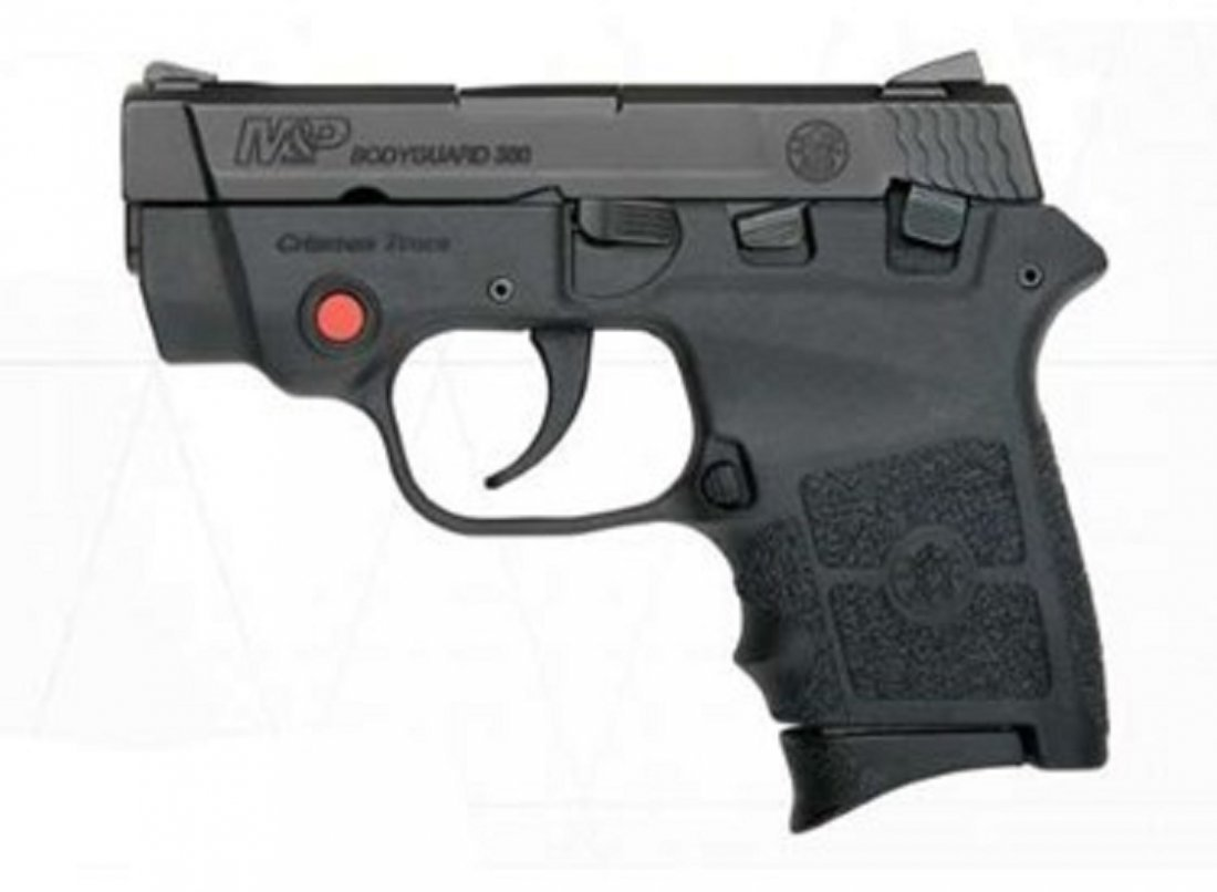 SMITH AND WESSON BODYGUARD  380 ACP W/ LASER