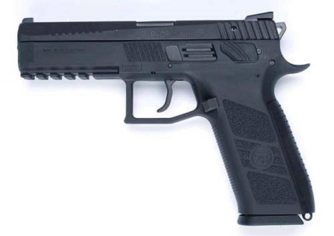 CZ-USA CZ P09 DUTY 9MM BLK 19+1 SAFETY