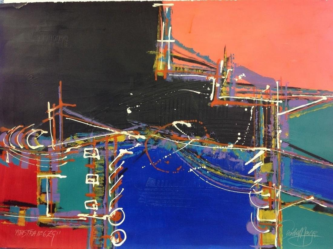 Cecilia Mayr - born in Votuporanga, Sao Paulo, Brazil -