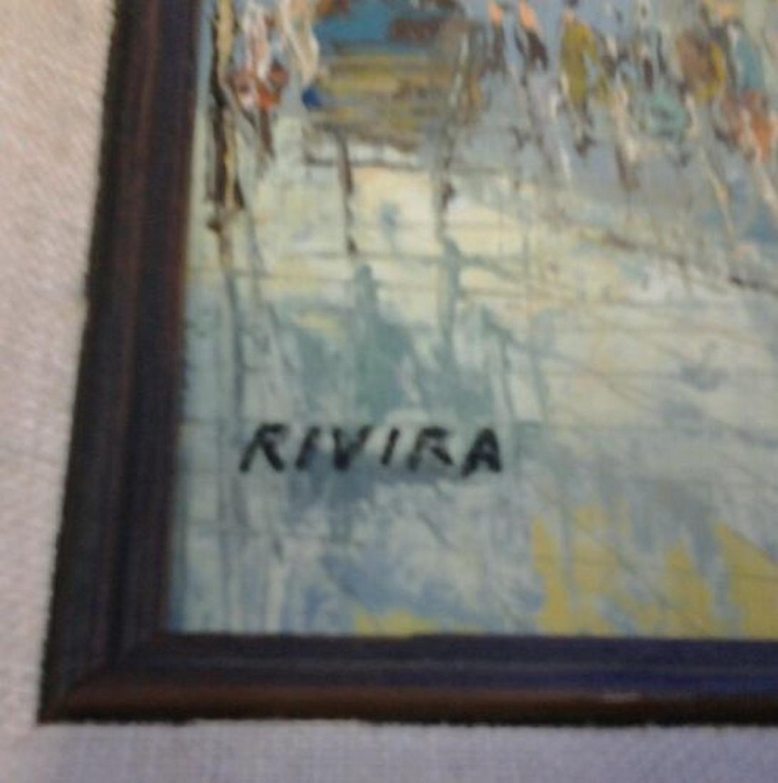 Rivira - Oil Painting - 2