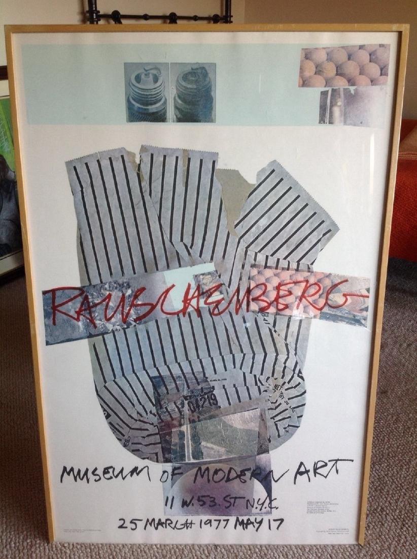 1976 Robert Rauschenberg Museum of Modern Art