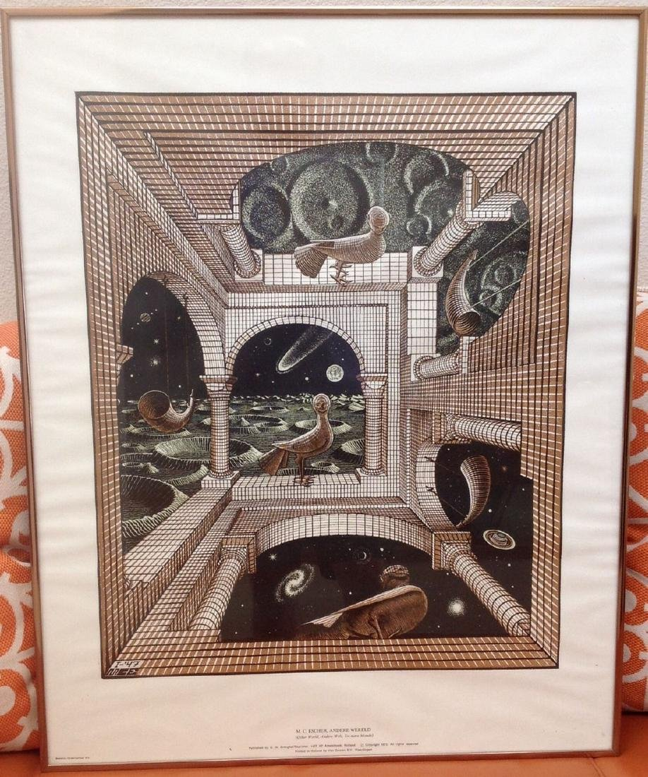 M. C. ESCHER - ANDERE WERELD PUBLISHED + PRINTED IN