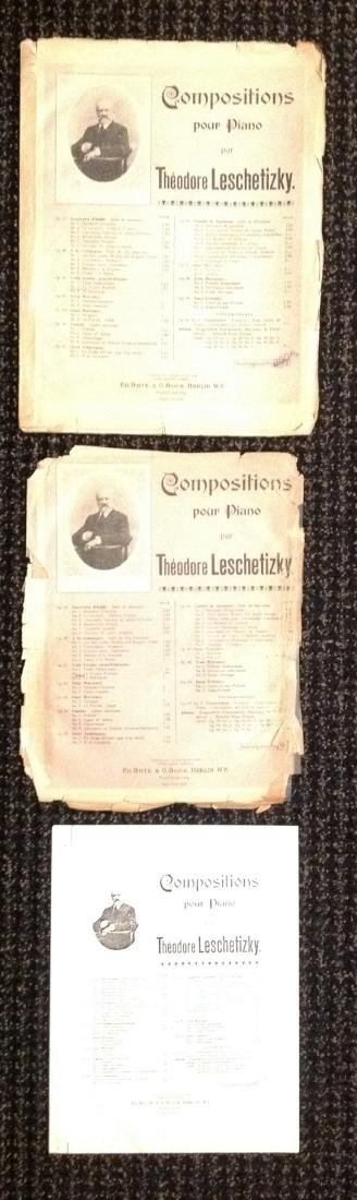 Vintage Sheet Music - Piano - Over 37 works