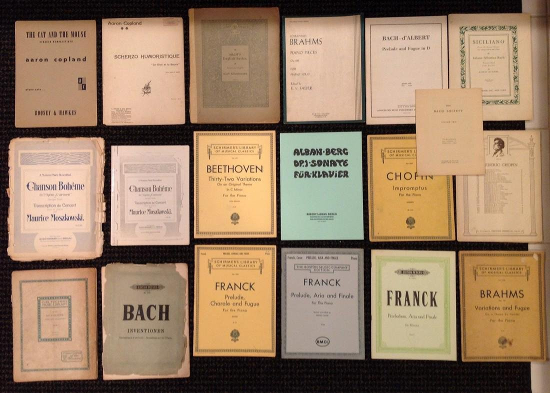Vintage Sheet Music - Piano - Over 37 works - 2