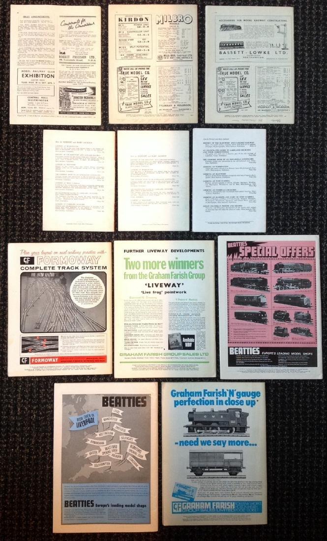Vintage Train Magazines 1940's - 1970's - 2