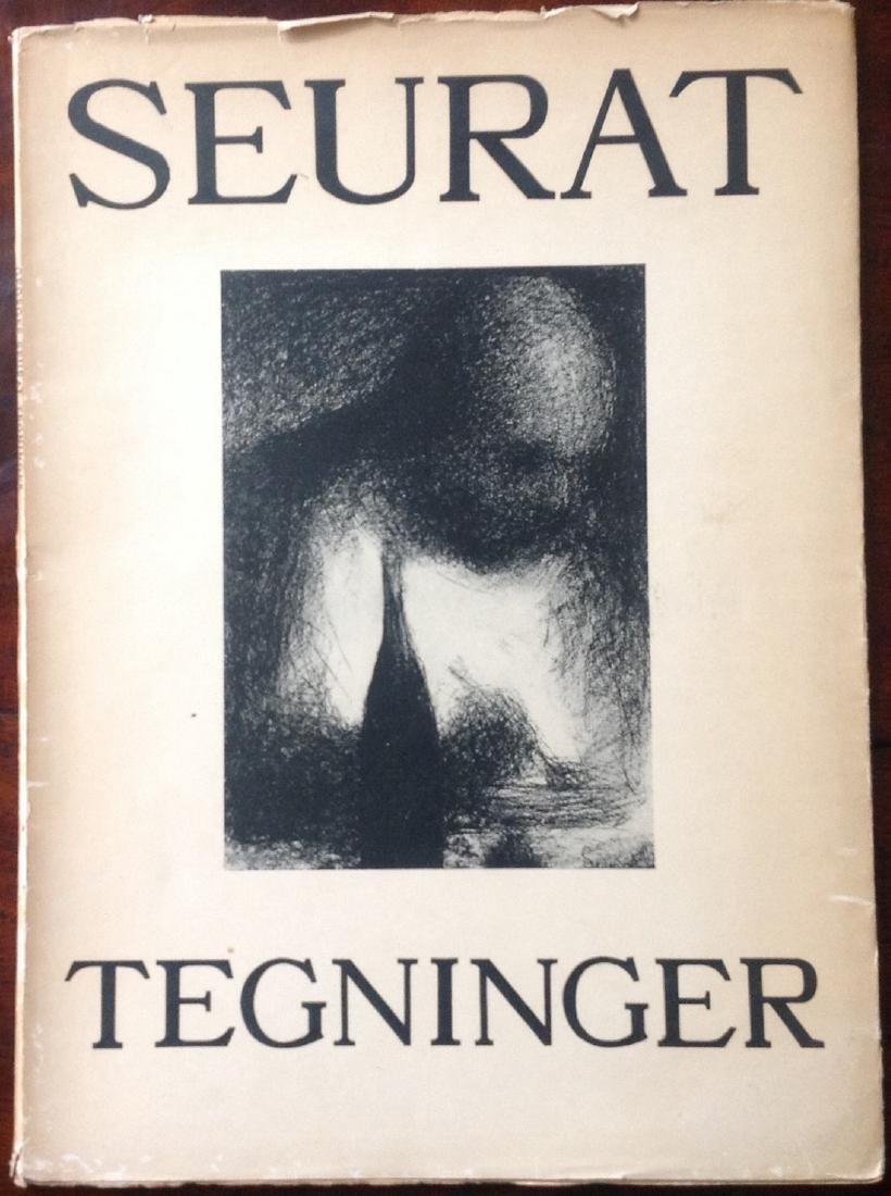 GEORGES SEURAT - SEURAT TEGNINGER    1946  - VINTAGE