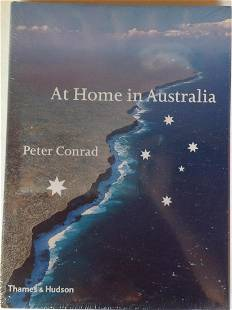 At Home in Australia by Peter Conrad Publisher Thames