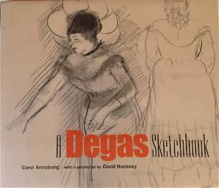 A Degas Sketchbook Publisher J Paul Getty