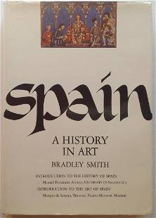 Spain A History in Art by Bradley Smith Published by