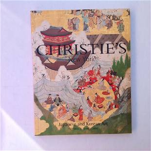 CHRISTIES Catalogue New York March 23 2004 Japanese