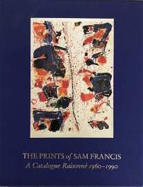 The Prints of Sam Francis - A Catalogu Raisonne- SIGNED