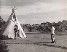 Marguerite Baker Johnson - Man taking a photo of Indian
