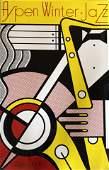 Roy Lichtenstein - Aspen Winter Jazz  Feb 26  '67