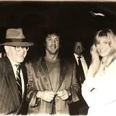 Sylvestor Stallone, Alana Stewart and Elton John at