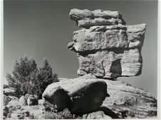 """Paul Delmar - """"Balancing Rock, Colorado""""  Vintage"""