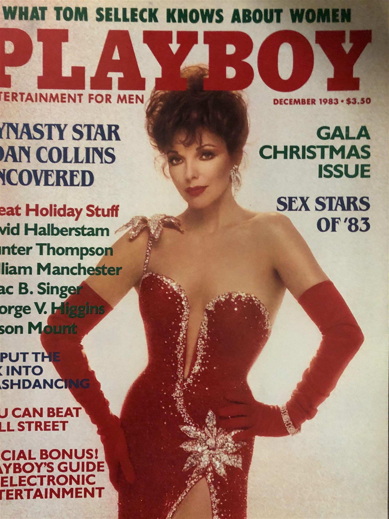 Playboy Dec 1983 Joan Collins