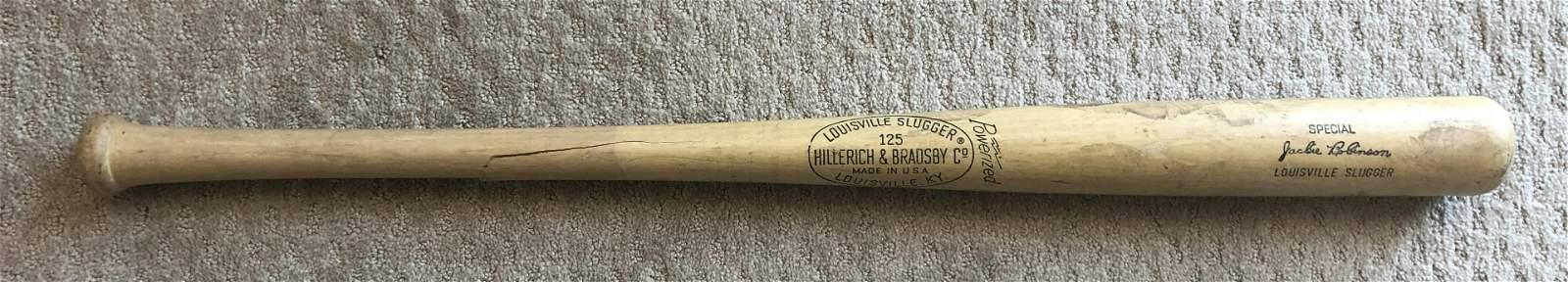Jackie Robinson Bat - Louisville Slugger