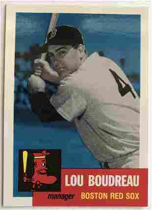 Lou Boudreau Topps 304