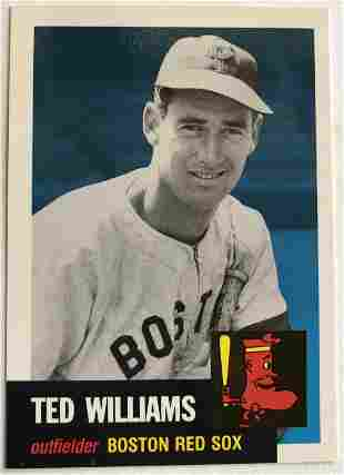 Ted Williams Topps 319