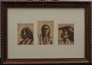3 Cheifs on dark frame by Eli Levin