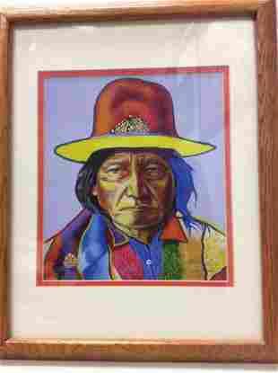 Chief Sitting Bull by John Balloue
