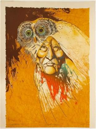 Night Visions Serigraphy by Burt Seaborn