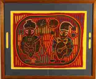 Kuna Indians San Blas Panama Molas