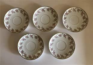 Elite Works Limoges France 5 plates