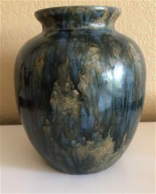 Multi Colored Glazed Vase