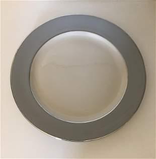 Flintridge China round platter