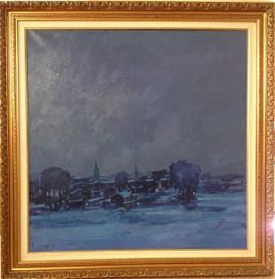 Franco Negro Oil Painting