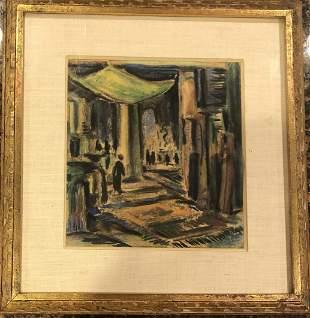 Max Thalmann - Pastel- c1930's