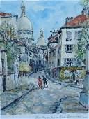 Pierre Eugene Cambier Watercolor