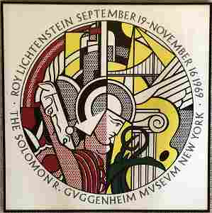 Roy Lichtenstein - The Solomon Guggenheim Museum NY