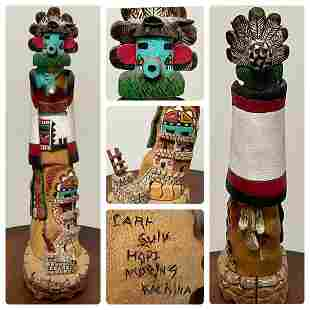 Kachina Doll by Carl Sulu