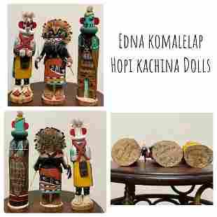 Kachina Dolls by Edna Komalelap