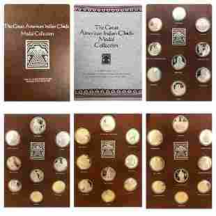The Great American Indian Chiefs Medal Collection