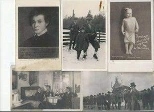 Postcards of Men