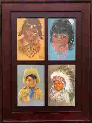 Canadian Eskimo Girls and Boys