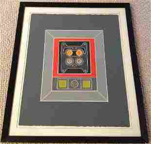 Tom Fricano (b. 1930) Modernist - signed lithograph