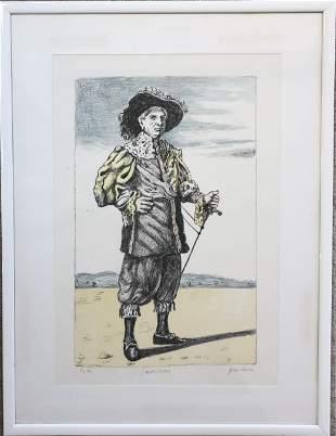 Giorgio de Chirico (1988-1978) Autoritratto, Signed