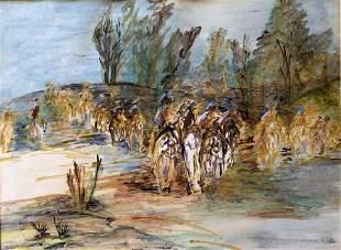 Myrtle Posner- Mid Century Painting