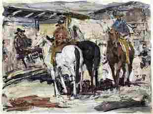 James Colt (1922-2005) Oil painting
