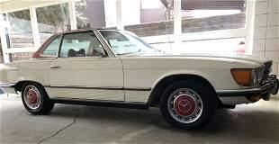 1973 Mercede Benz 450 SL California Car Since New