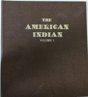 The American Indian Chief Album. Set Of 51 Sterling