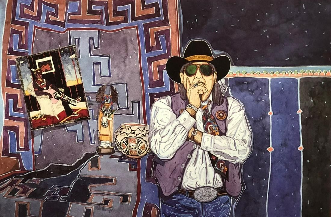 The Artist and his Favorites by Armando Pena