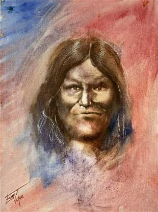 Chief Geronimo on Canvas