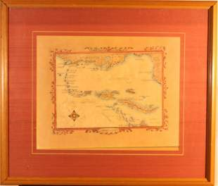 Spanish Map of Caribean