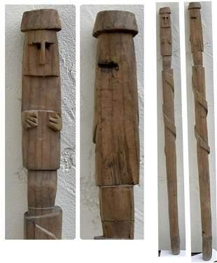 Indian Head Walking Stick