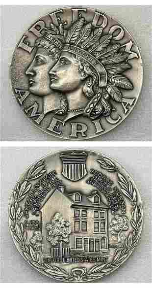 Freedom America Silver Coin